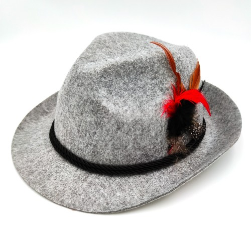 Chapeau Tyrolien gris