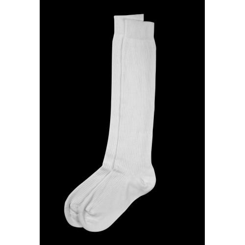 Chaussettes hautes blanches
